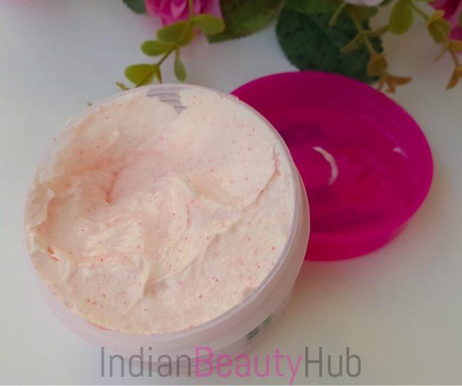 Kallos Rose & Honey Nourishing Face Scrub Review_4