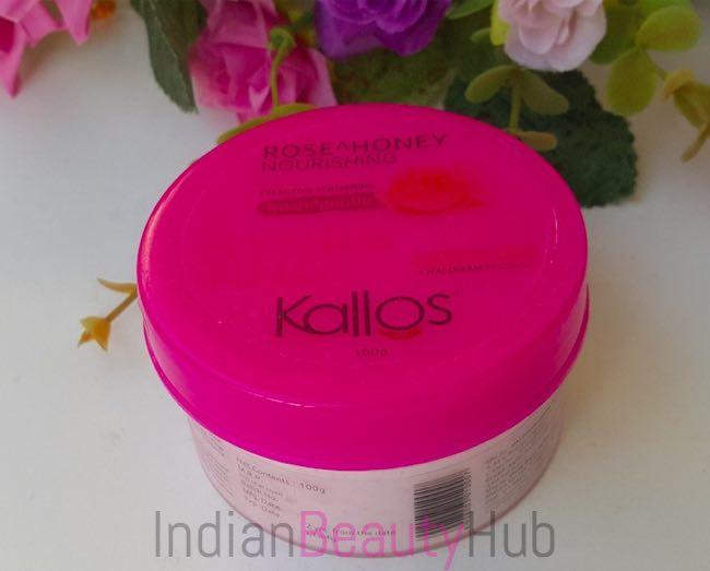 Kallos Rose & Honey Nourishing Face Scrub Review_5