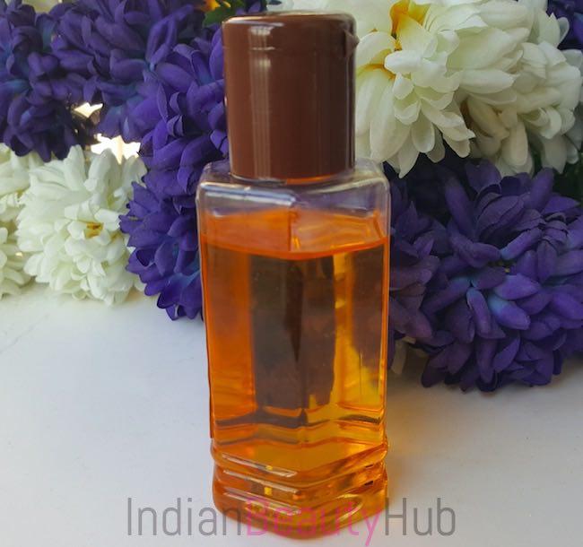 Patanjali Almond Hair Oil Review_3