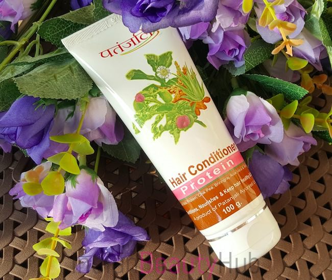 Patanjali Protein Hair Conditioner Review_3