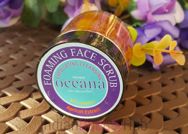 nyassa oceana foaming face scrub review_1