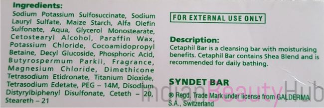 Cetaphil Cleansing & Moisturising Syndet Bar Review_2