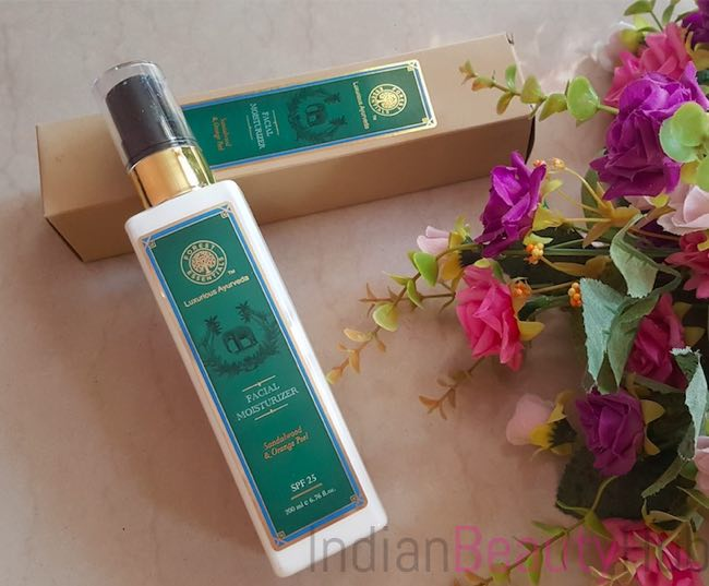 Forest Essentials Sandalwood & Orange Peel Facial Moisturizer_2