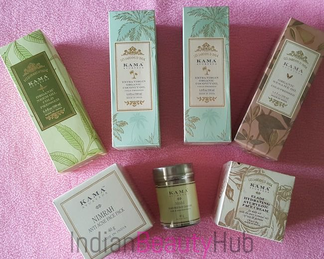 Kama Ayurveda Skincare haircare products haul_7