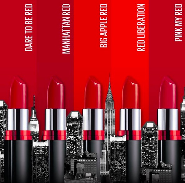 New Maybelline Color Show Big Apple Red Lipstick Price