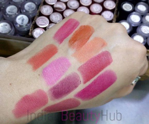 New! Lakme Enrich Matte Lipsticks Photos & Swatches
