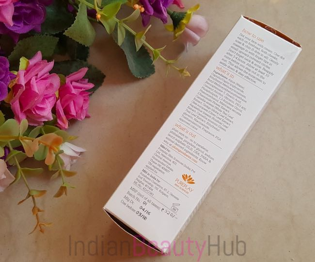 Plum Chamomile & White Tea Sheer Matte Day Cream SPF50 Review_8