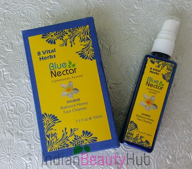 Blue Nectar (Shubhr) Radiance Honey Face Cleanser Review_1