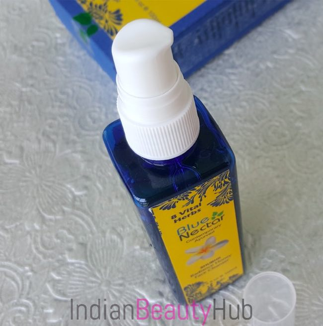Blue Nectar (Shubhr) Radiance Honey Face Cleanser Review_4