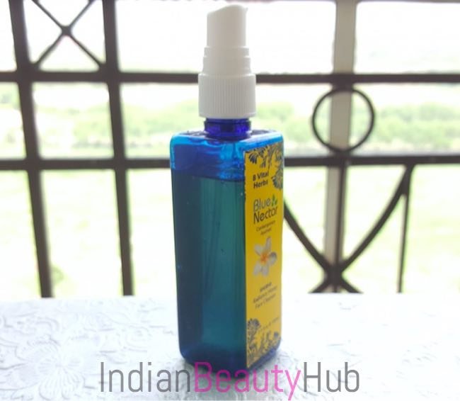 Blue Nectar (Shubhr) Radiance Honey Face Cleanser Review_5