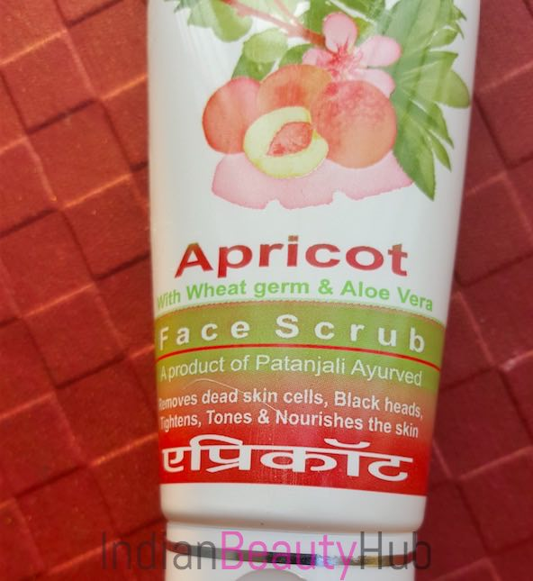 Patanjali Apricot Face Scrub Review_1