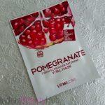 LomiLomi 7 Skin Scheduler Vital Mask Review - Pomegranate