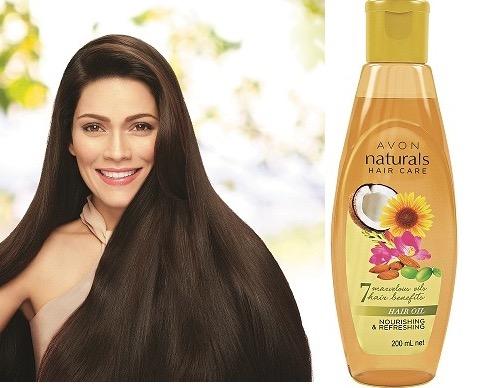 Avon Naturals Hair Oil