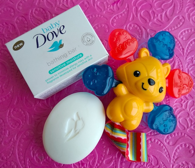 Baby Dove Sensitive Moisture Bathing Bar Review - Indian Beauty Hub