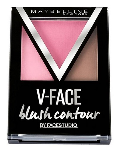 Maybelline V-Face Studio Duo Stick, Powder, Blush Contour