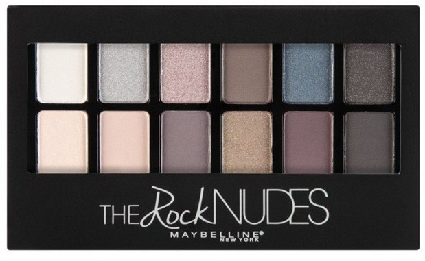 Maybelline New York The Rock Nudes Palette review