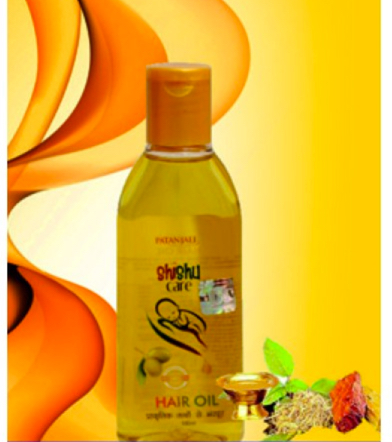 Patanjali Shishu Care Hair Oil