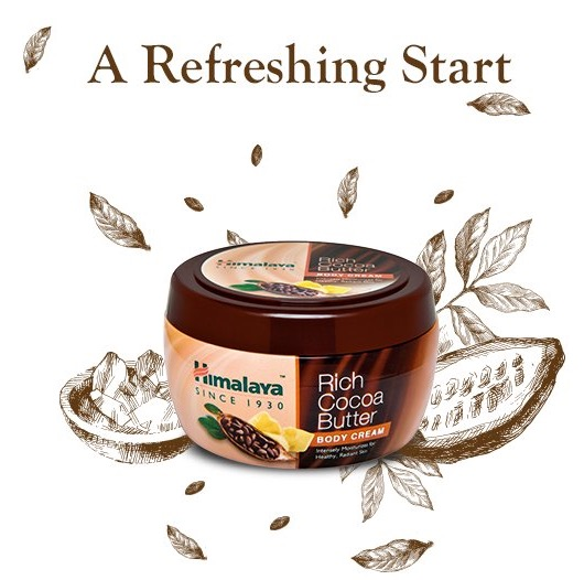 Himalaya Rich Cocoa Butter Body Cream review