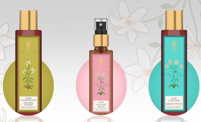 New! Forest Essentials Haircare Range