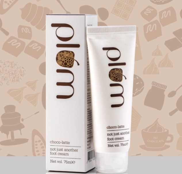plum Choco-Latte Not Just Another Foot Cream