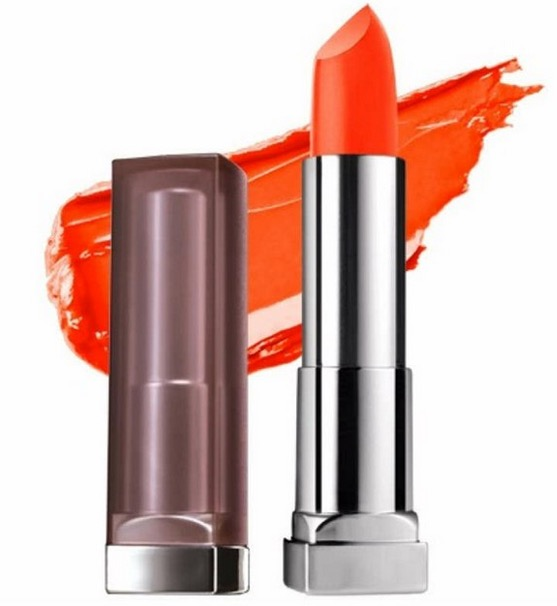 Maybelline Color Sensational Creamy Matte Lipstick Craving Coral