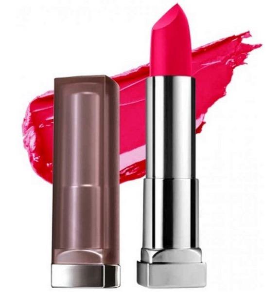 Maybelline Color Sensational Creamy Matte Lipstick Mesmerizing Magenta
