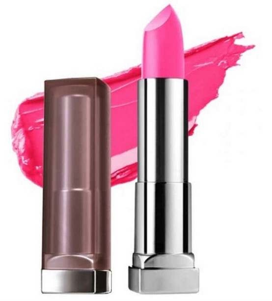 Maybelline Color Sensational Creamy Matte Lipstick Faint For Fuschia