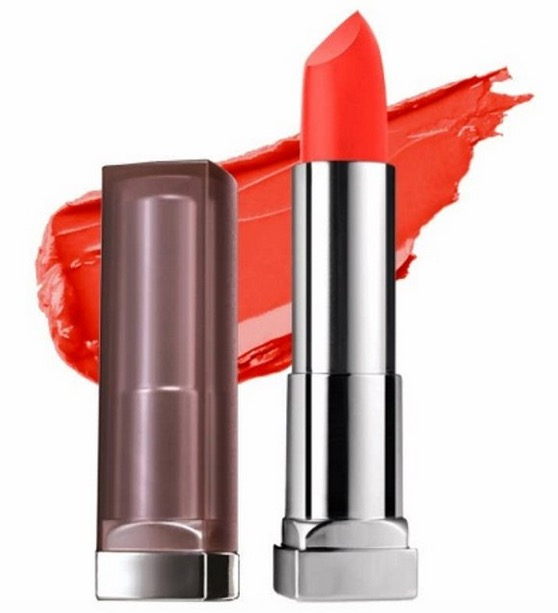 Maybelline Color Sensational Creamy Matte Lipstick All Fired Up