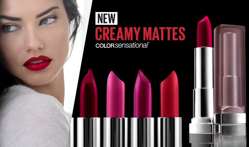 New Maybelline Color Sensational Creamy Matte Lipstick