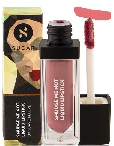 SUGAR Smudge Me Not Liquid Lipstick 09 Suave Mauve