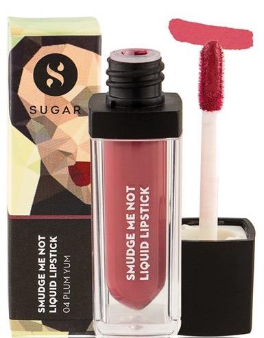SUGAR Smudge Me Not Liquid Lipstick 04 Plum Yum