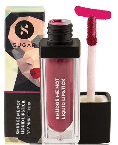 SUGAR Smudge Me Not Liquid Lipstick 02 Brink Of Pink