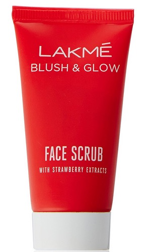 Lakme Blush & Glow Face Scrub With Strawberry Extracts