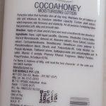 Oshea Herbals Cocoa Honey Moisturising Lotion Review