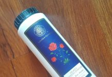 Forest Essentials Silken Dusting Powder Review - Indian Rose Absolute