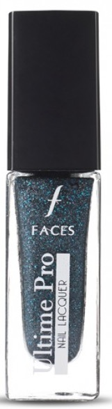 Faces Ultime pro nail lacquer Denim Collection - Denim Noir 06