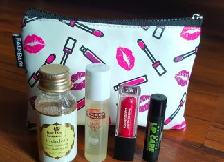 Fab Bag February 2017 Products Mini Reviews