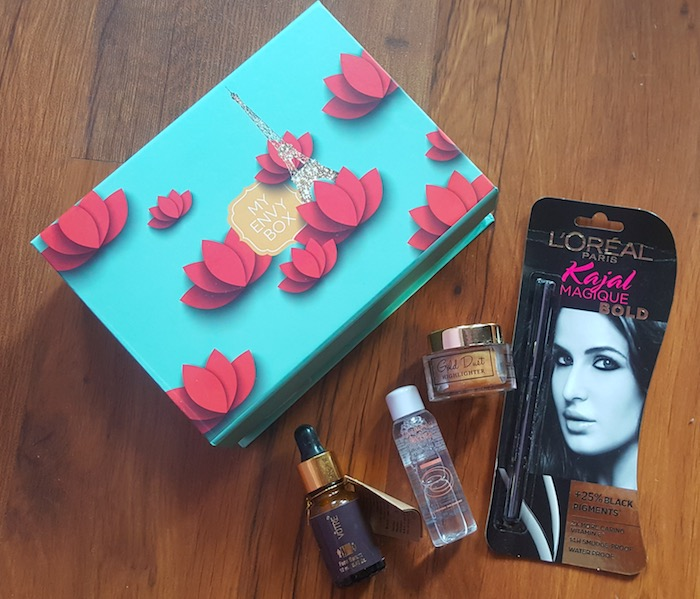 My Envy Box February 2017 Review
