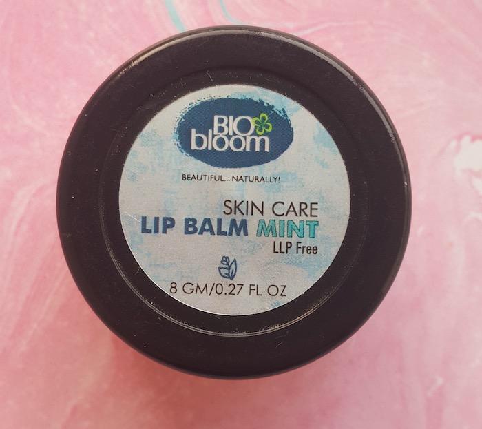 Bio Bloom Lip Balm Mint Review