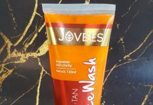 Jovees De-Tan Face Wash Review