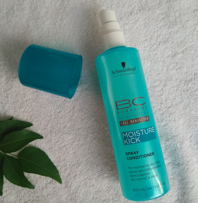 Schwarzkopf BC Moisture Kick Spray Conditioner Review