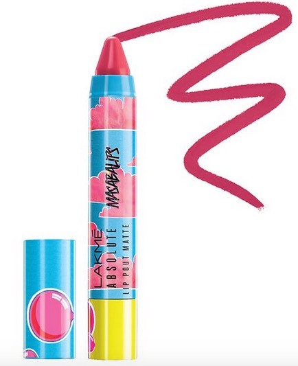 Lakme Absolute Lip Pout Matte Masaba Lips in Hot Pink Queen