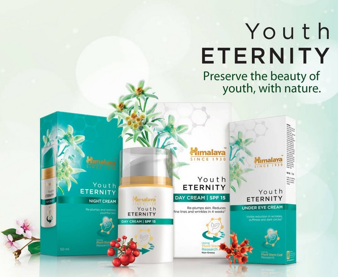 Himalaya Youth Eternity Day Cream, Night Cream and Under Eye Cream