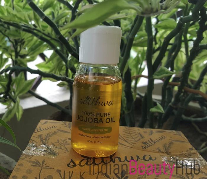 Satthwa 100% Pure Jojoba Oil Review