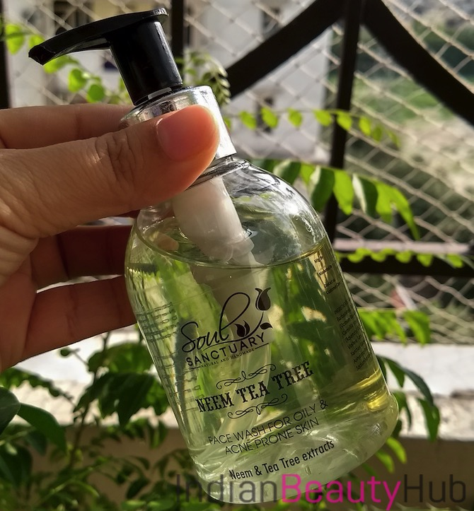 Soul Sanctuary Neem Tea Tree Face Wash Review