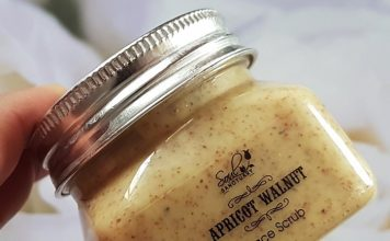 Soul Sanctuary Apricot Walnut Face Scrub Review