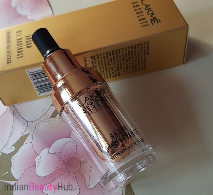 Lakme Absolute Argan Oil Radiance Overnight Oil-in-Serum Review