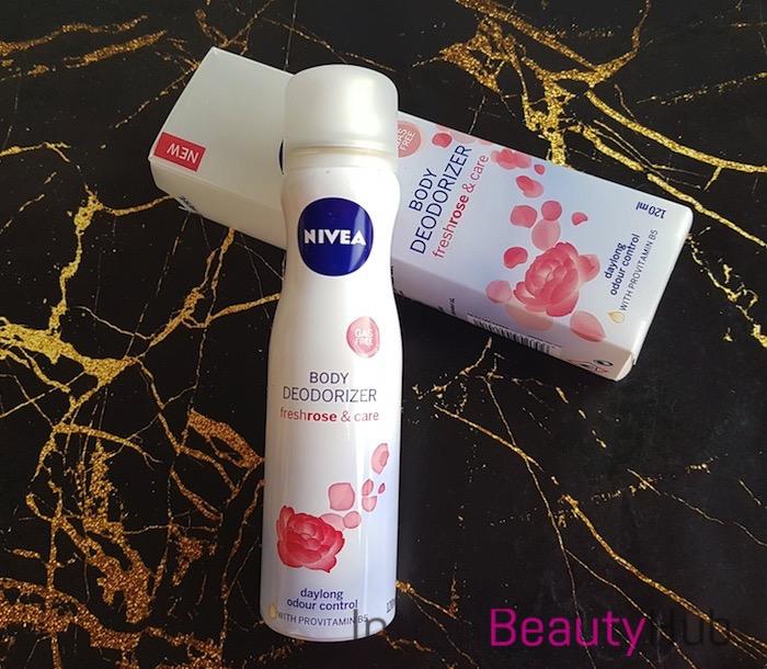 Nivea Body Deodorizer Fresh Rose & Care Review