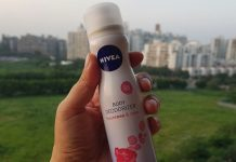 Nivea Body Deodorizer Fresh Rose & Care Review