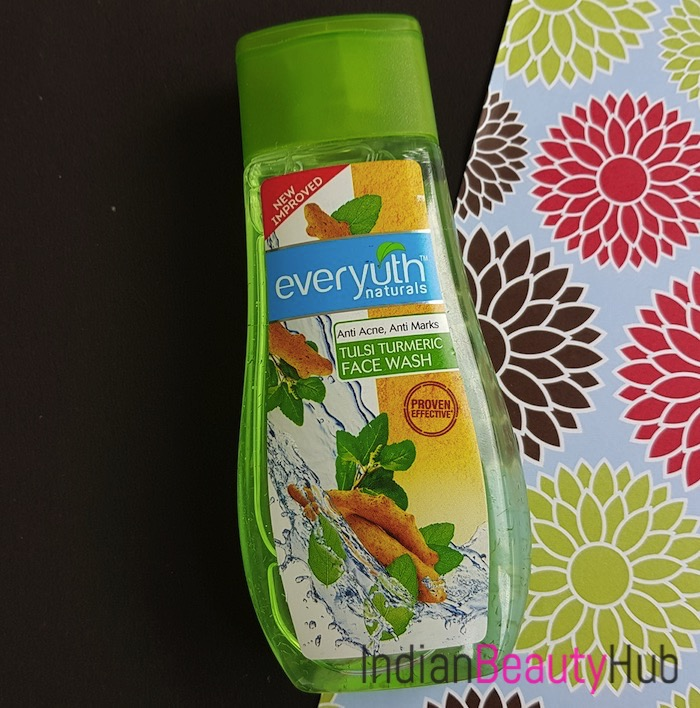 Everyuth Anti Acne Anti Marks Tulsi Turmeric Face Wash Review